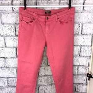 Pink page skinny pants size 31